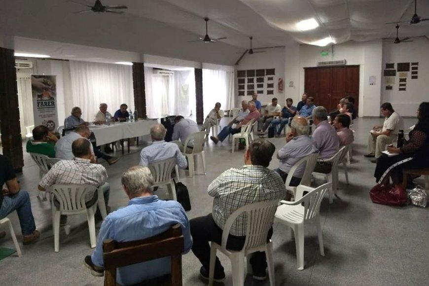 Tras el comunicado, hoy hubo renión en Villaguay.
