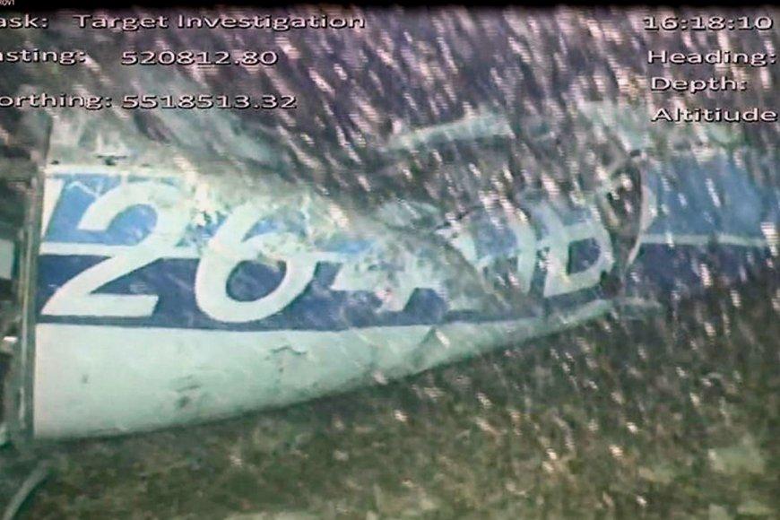 Imagen de la identificación de la aeronave