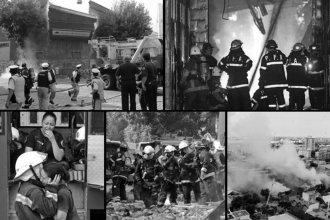 A 5 años de la tragedia, Entre Ríos rindió homenaje a los Bomberos de Barracas