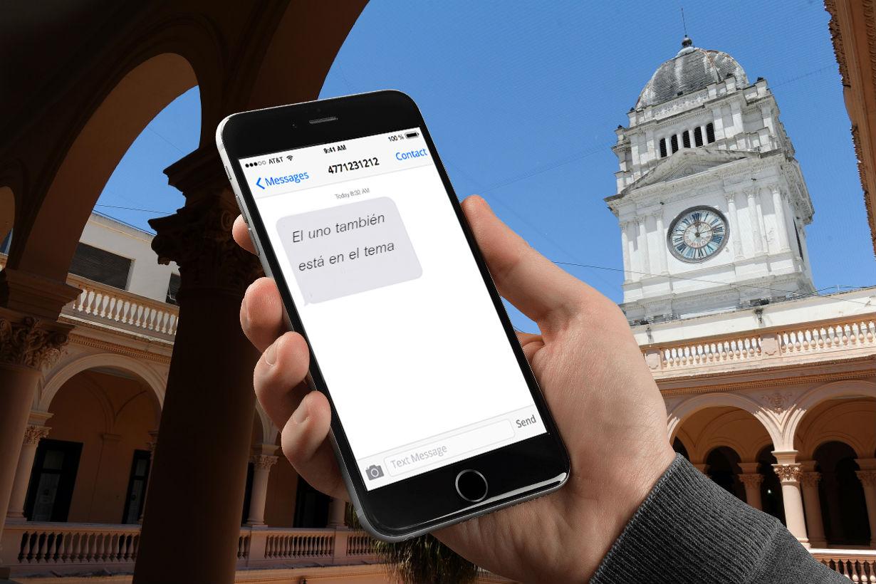 El mensaje que Pérez le envió a Mena.