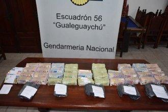 Gendarmería incautó $4.300.000 a un automovilista que no pudo explicar el origen del dinero
