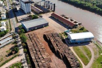 Tras bajar el río, otro ultramarino arribará al puerto en busca de 20 toneladas de madera