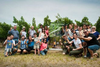 Llegó la tercera Vendimia de Entre Ríos a la costa del río Uruguay