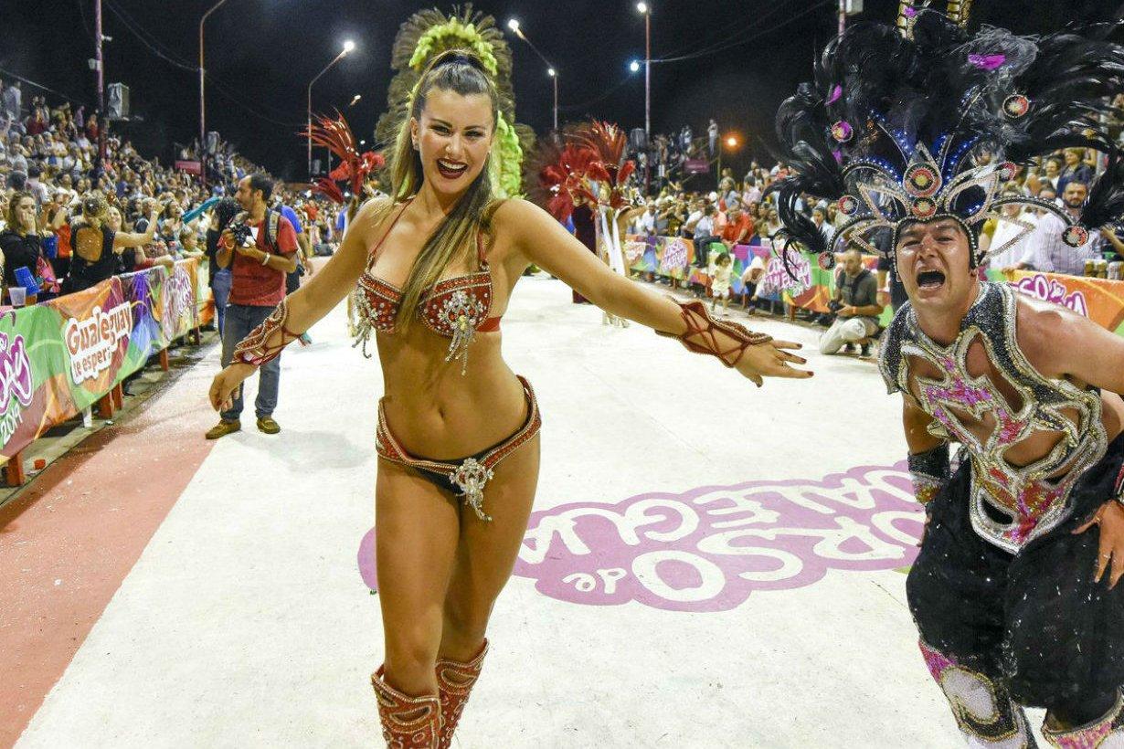Gualeguay también tiene su fiesta de Carnaval.