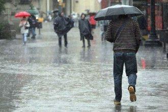 Entre Ríos en alerta meteorológica por lluvias y tormentas