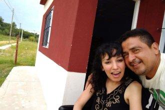 Cynthia, la casa propia y una sonrisa para seguir luchando contra la ELA