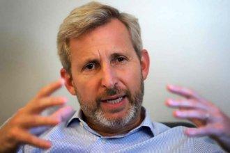 """Para Frigerio, el financiamiento de los partidos tiene que pasar """"sí o sí"""" por debate parlamentario"""