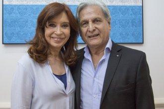 Solanas se reunió con Cristina en el Instituto Patria