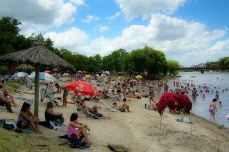 """Vuelven las playas y Gualeguaychú recupera las esperanzas de vivir un """"excelente"""" fin de semana"""