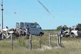 Choque de camionetas en Ruta 12 costó la vida de dos personas