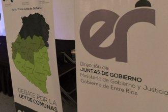 Bordet reglamentó las comunas de primera y segunda categoría
