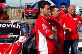 Multaron al nuevo equipo de Mariano Werner en su estreno en el TC