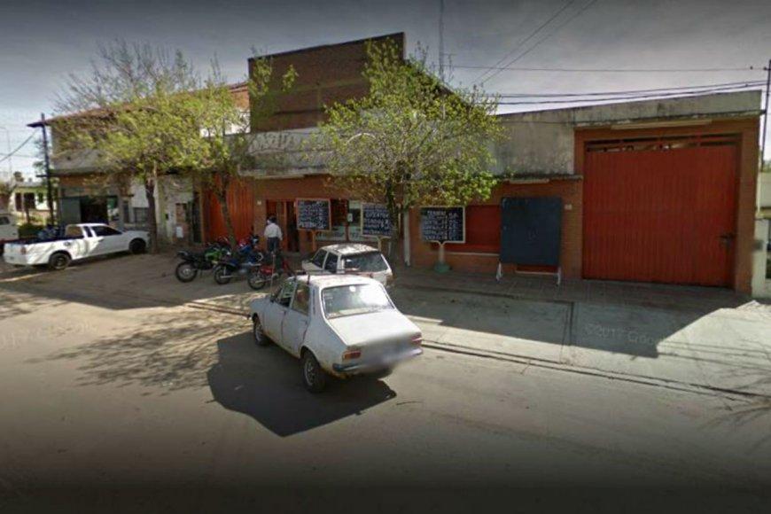 De este local salió Raúl cuando fue baleado.