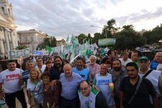 Se llevó a cabo la Marcha de antorchas contra los tarifazos de Macri