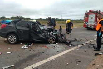 A una semana del fatal choque en la autovía, falleció la mujer que viajaba como acompañante