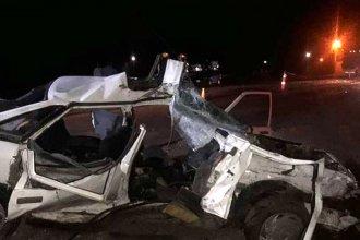 Mujer embarazada y su pareja murieron tras accidentarse en ruta entrerriana