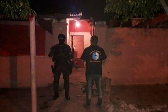 5 detenidos y drogas incautadas, tras allanamientos en varias ciudades de Entre Ríos