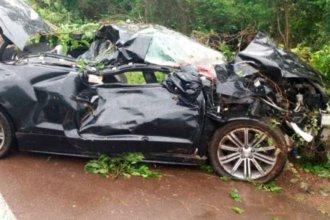 Accidente en ruta brasileña se cobró la vida de dos entrerrianas