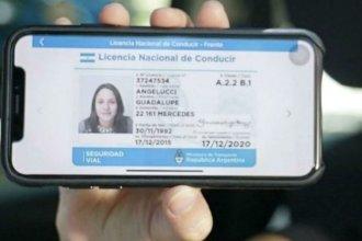 ¿Cómo funciona en Entre Ríos la licencia de conducir digital?