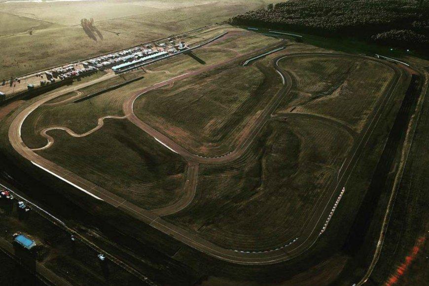 El autódromo de La Histórica, desde el aire.