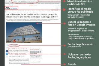 Lanzan proyecto para verificar las noticias electorales de Entre Ríos