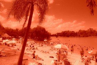 Ola de calor: elevaron el nivel de alerta para una ciudad de la costa del Uruguay