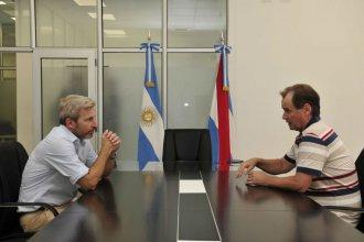 La foto electoral: previo al cierre de listas se reunieron Frigerio y Bordet