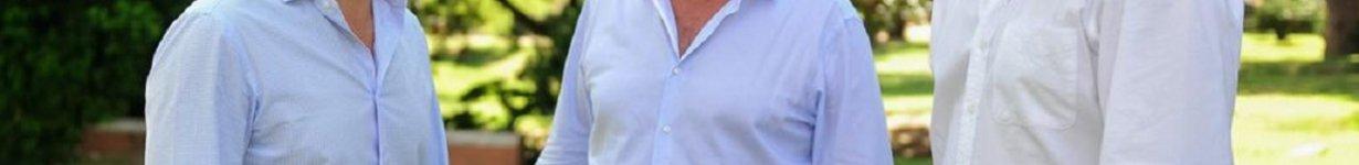 El ministro, junto a la fórmula Benedetti-Hein.