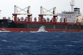 Fuerte actividad en puertos entrerrianos: el quinto buque llega a Concepción del Uruguay