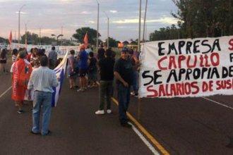"""""""Estamos pasando hambre"""", admitieron trabajadores de reconocida citrícola de la costa del río Uruguay"""