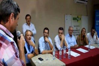 Productores entrerrianos les reprocharon a Etchevehere, De Ángeli y Benedetti la falta de apoyo