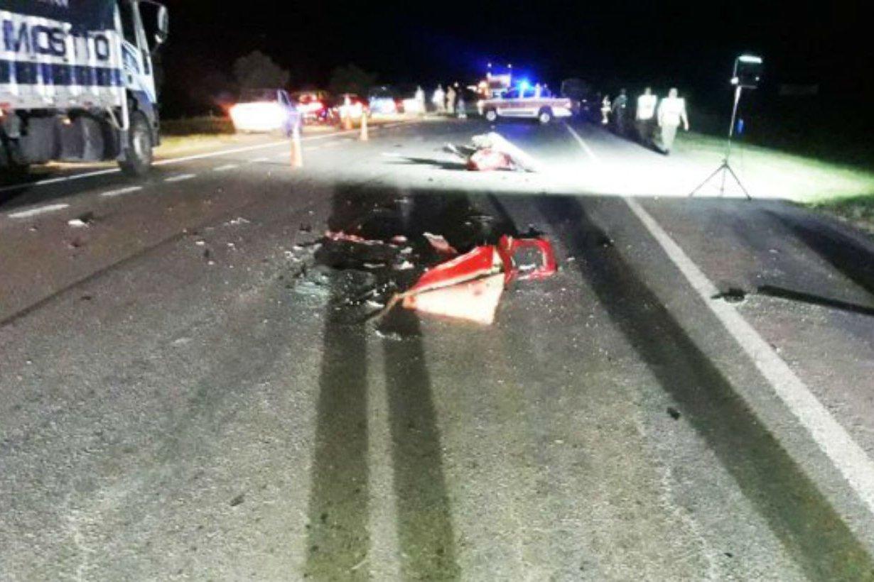 El accidente ocurrió esta madrugada, en el km 25.