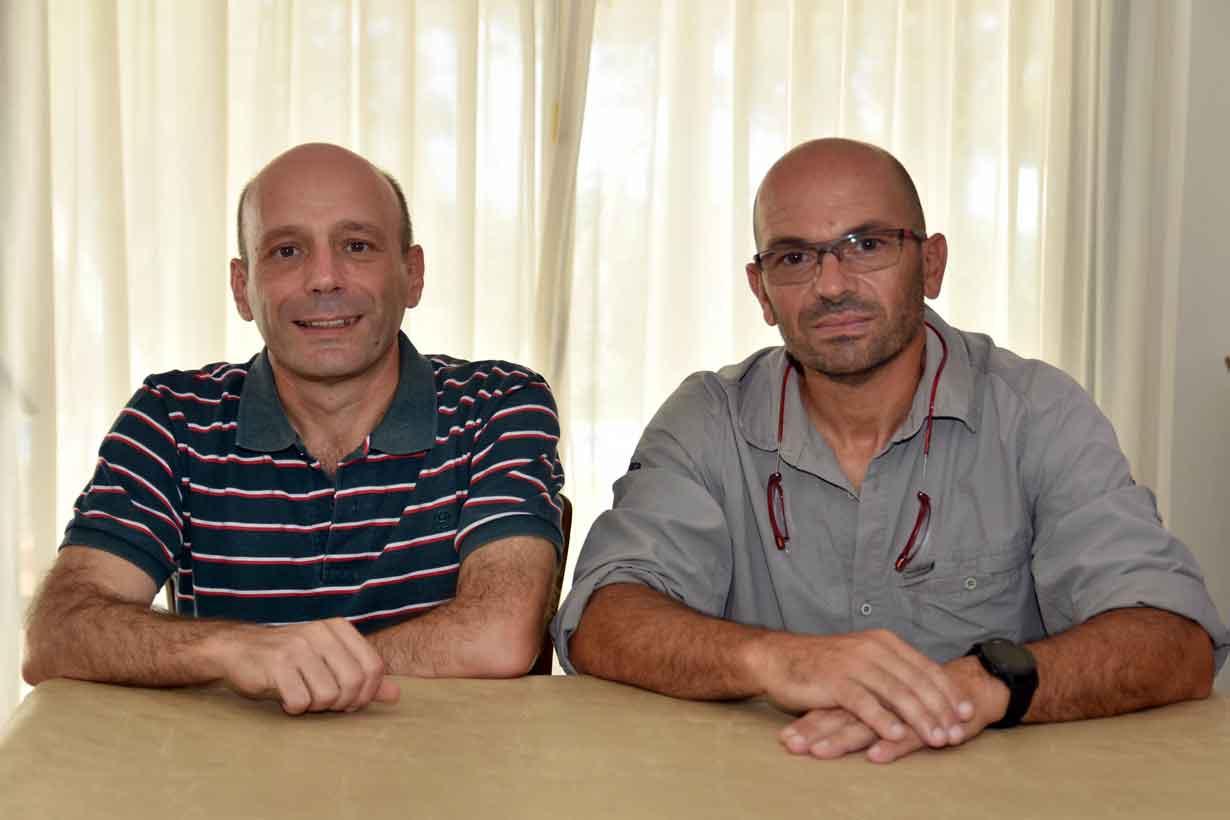Besson y Battista, en diálogo con El Entre Ríos