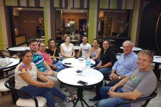 Elecciones 2019: Benedetti visitó Chajarí y se mostró optimista de cara a los comicios