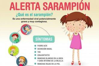 Alerta sarampión: emiten recomendaciones para los que viajaron a Brasil en febrero