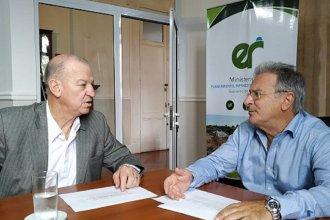Piana pidió a la provincia la ejecución urgente de obras en el Departamento Federación
