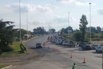 "Complicado regreso a casa: piden precaución por ""gran caudal vehicular"""