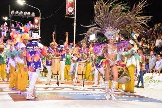 El detalle de las figuras ganadoras del Carnaval de Concordia
