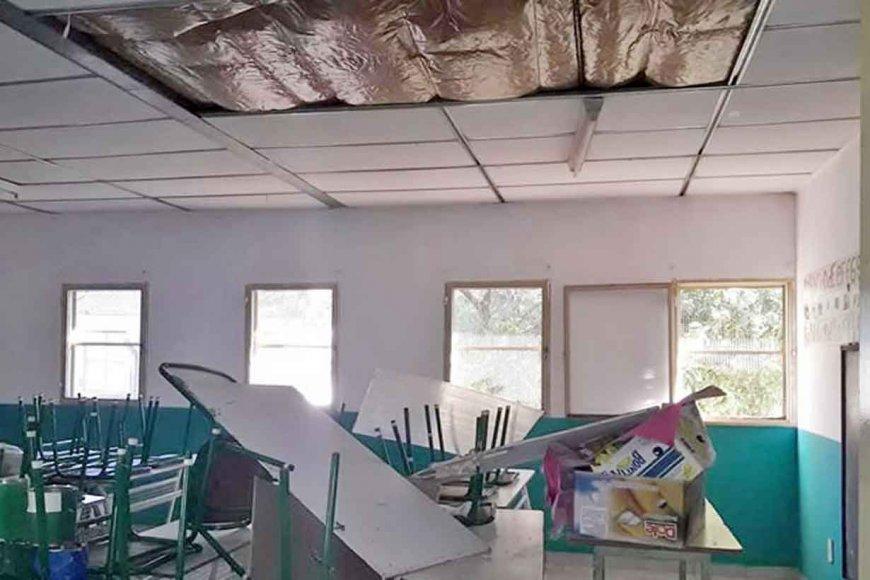 Educación gestión Bordet: Casi 300 escuelas con problemas edilicios de gravedad extrema
