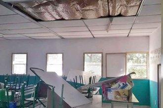 Problemas edilicios: denunciaron que aún no hay soluciones en 40 escuelas del departamento Concordia