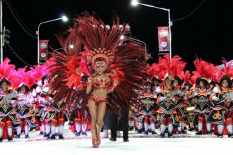 Pesar en el carnaval de Concordia: falleció una pasista de Emperatriz