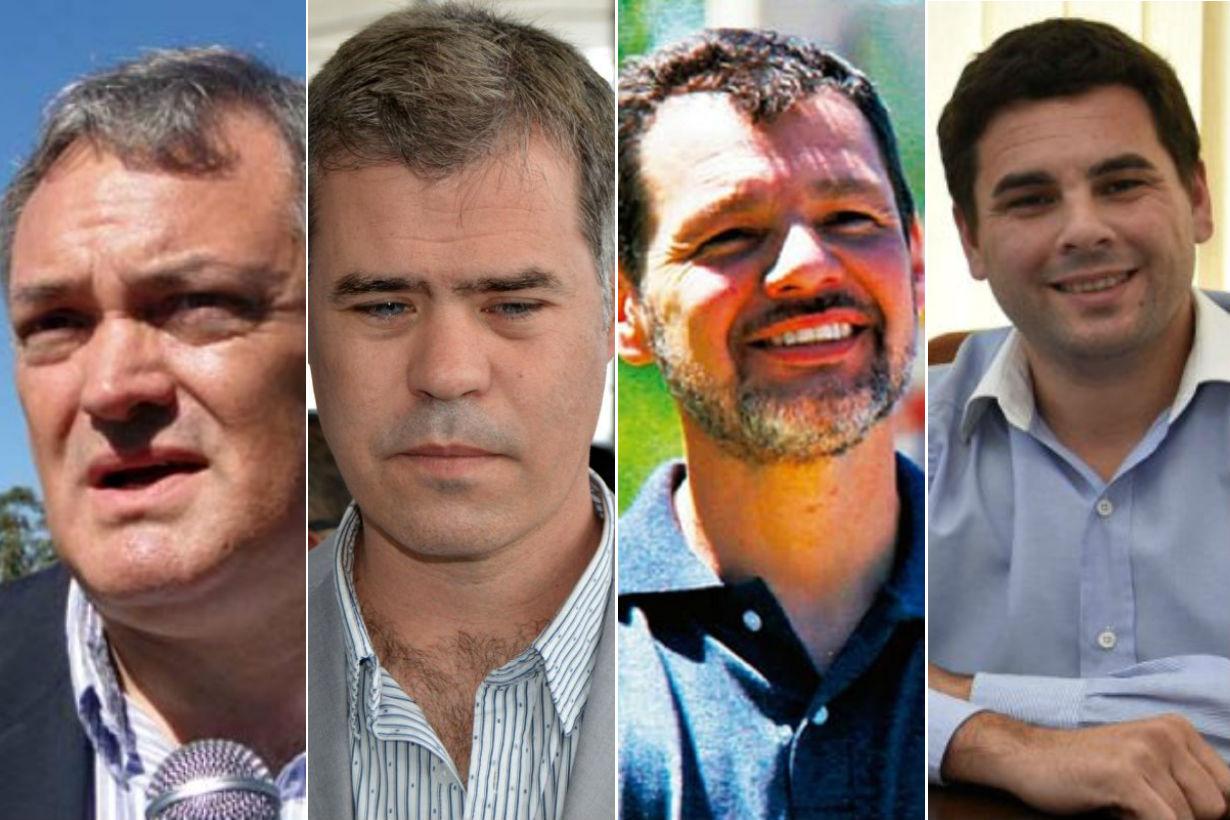 García, Piaggio, Cardozo y Bastian, candidatos.