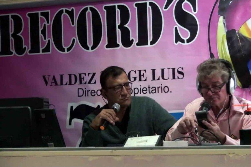 Jorge Valdez (derecha)