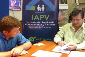 En Villa Elisa, El IAPV y el municipio acordaron mejorar 13 viviendas