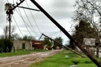 Por la tormenta, varias localidades entrerrianas quedaron a oscuras