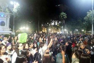 El 8 M culminó con una marcha en pleno centro de Concordia