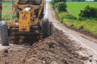 La provincia invertirá más de $ 200 millones en rutas y caminos entrerrianos afectados por el tiempo