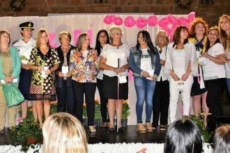 """30 mujeres entrerrianas fueron premiadas con la distinción """"La Delfina"""""""