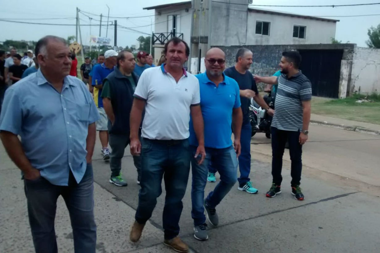 Torres y Acosta, de recorrida por Castro.