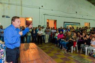 Varisco, a punto de ir a juicio, está de campaña: congregó a municipales y les pidió su voto